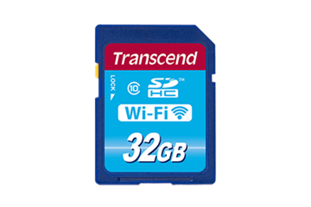 Transcend Wi-Fi SD Card 1