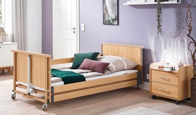 Burmeier เตียงผู้ป่วย เตียงไฟฟ้า รุ่น Dali Low Entry 1