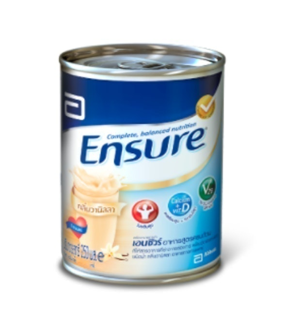 Ensure อาหารสูตรครบถ้วน ชนิดน้ำ กลิ่นวานิลลา 1