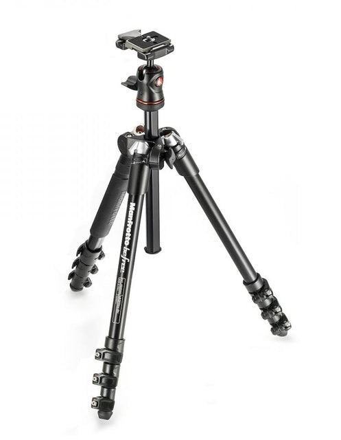 Manfrotto Befree Aluminum Travel with ball head 1