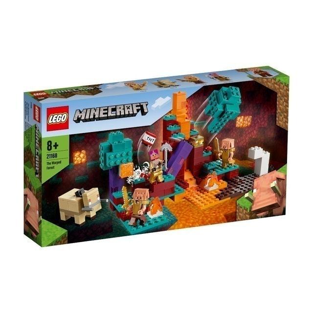 LEGO ตัวต่อเสริมทักษะสำหรับเด็ก Minecraft The Warped Forest 1