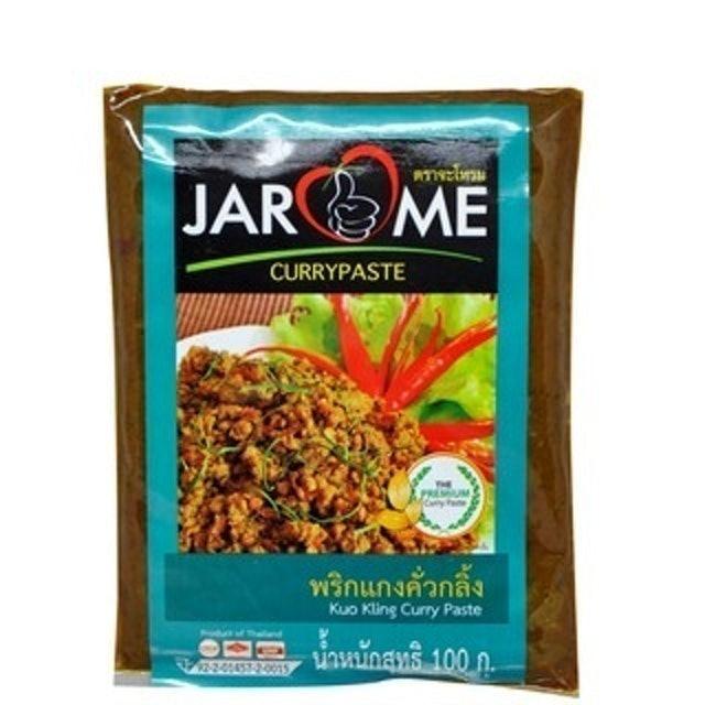 Jarome พริกแกงคั่วกลิ้งสำเร็จรูป สูตรคีโต 1