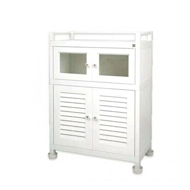 Choktavee Furniture ตู้กับข้าวพีวีซี 3 ชั้น 1