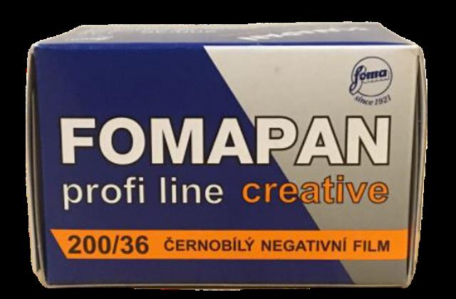 Foma ฟิล์มขาวดำ Fomapan 200 1