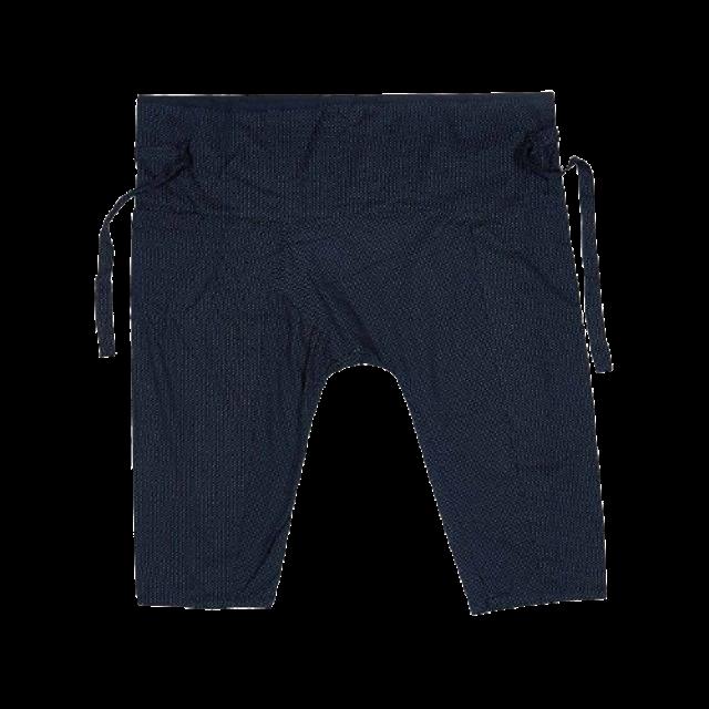 MOTTOM กางเกงเล สีดำ พิมพ์ลาย 3