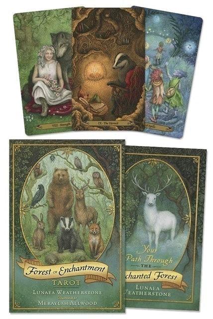 Lunaea Weatherstone, Meraylah Allwood Forest of Enchantment Tarot 1