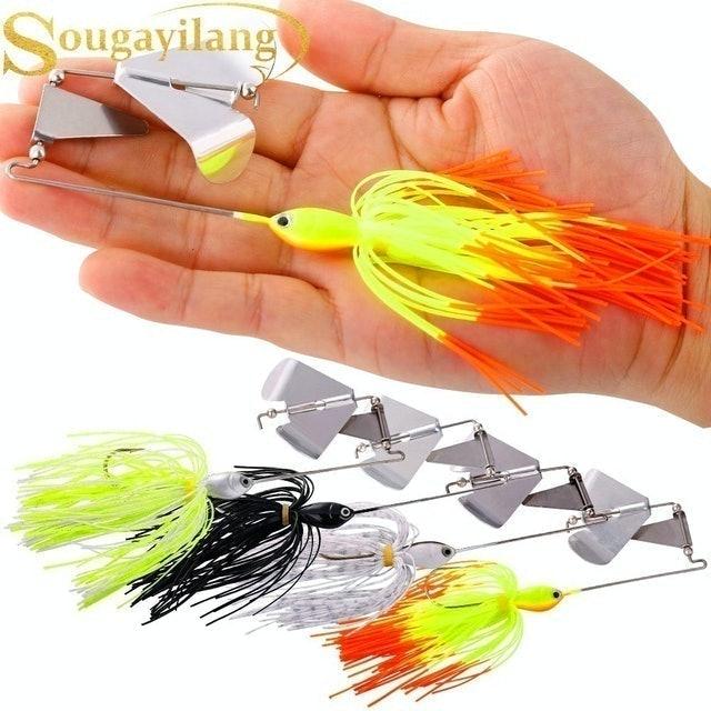 Sougayilang อุปกรณ์ตกปลา เหยื่อตกปลา Buzz Bait 1
