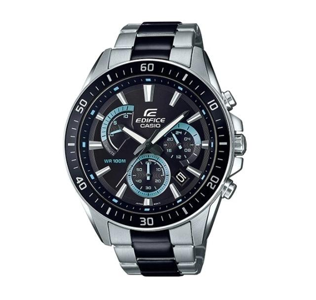 Casio นาฬิกาข้อมือ UNISEX ANALOG EDIFICE รุ่น EFR-552SBK-1AVUDF 1