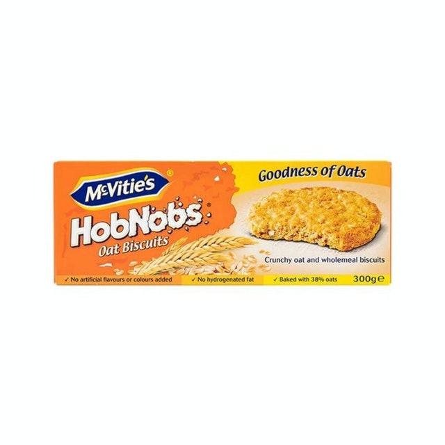 McVitie's คุกกี้ธัญพืชข้าวโอ๊ตและโฮลมีล Hobnobs 1