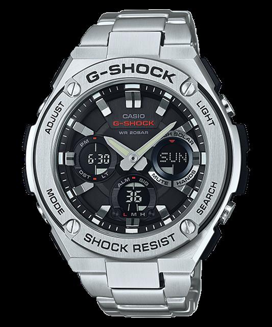 CASIO นาฬิกา G-Shock ผู้ชาย รุ่น GST-S110D-1A 1