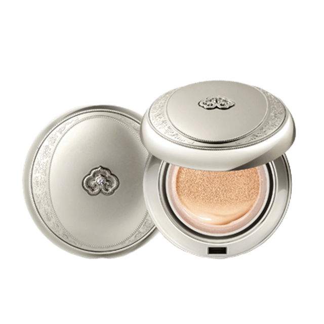 The history of Whoo Gongjinhyang: Seol Radiant White Moisture Cushion Foundation 1