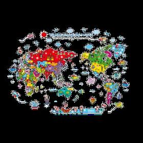 10 อันดับ แผนที่โลก ยี่ห้อไหนดี ฉบับล่าสุดปี 2021 เสริมสร้างความรู้ มีทั้งลูกโลก โปสเตอร์ และจิ๊กซอว์ 1