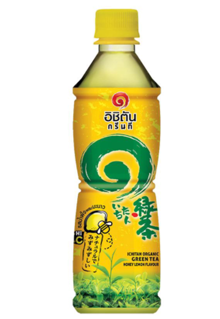 อิชิตัน ชาเขียวสำเร็จรูป ชาเขียวพร้อมดื่ม รสน้ำผึ้งผสมมะนาว 1