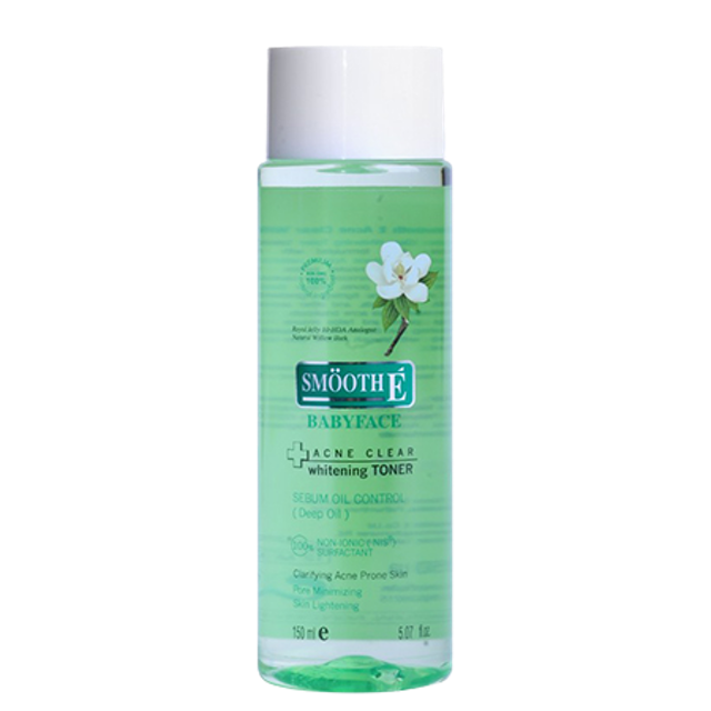 Smooth E Smooth E Acne Clear Whitening Toner 1