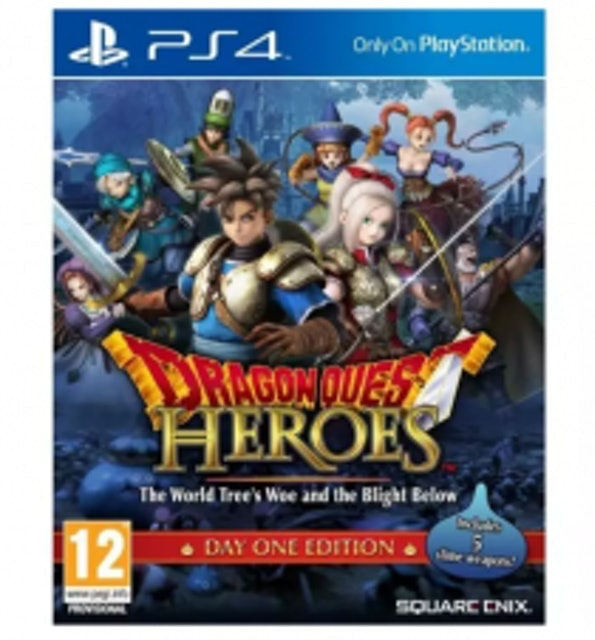 PS4 DRAGON QUEST HEROES : The World Tree's Woe and the Blight Below 1