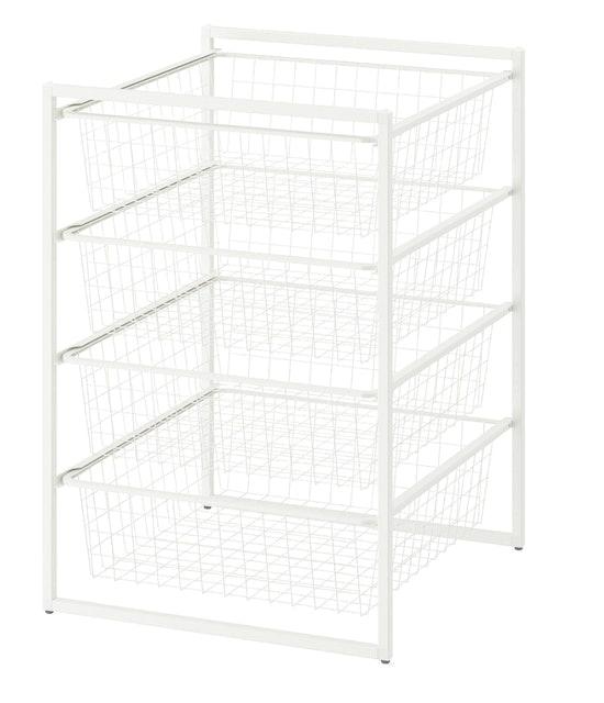 IKEA JONAXEL โครง+ตะกร้าลวด  1