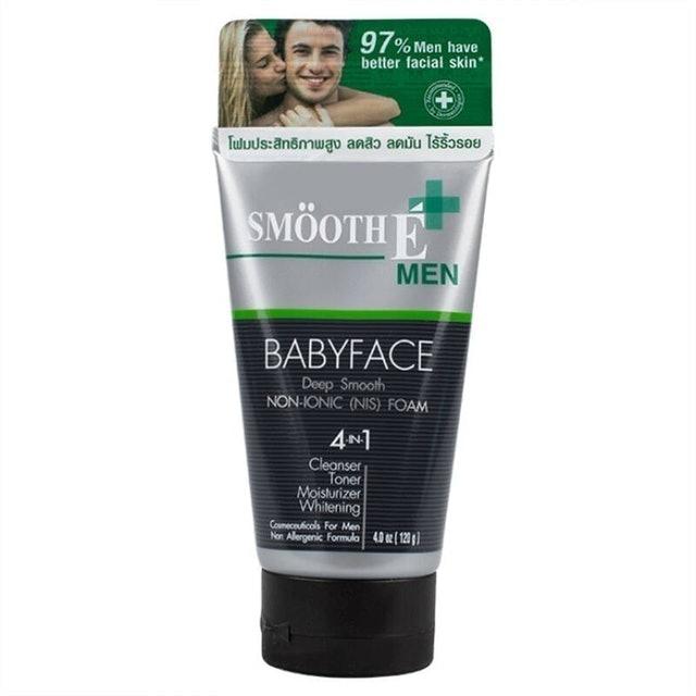 Smooth E Men  โฟมล้างหน้าผู้ชาย Babyface Foam 1