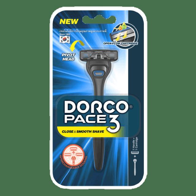 DORCO System Razor 3 blades PACE 3 1