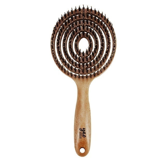 Yao Hairbrush  Circle Moving Boar Brush 1