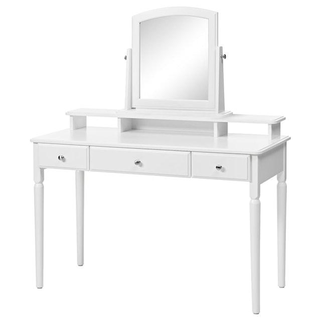IKEA โต๊ะเครื่องแป้งมีกระจก รุ่น TYSSEDAL  1
