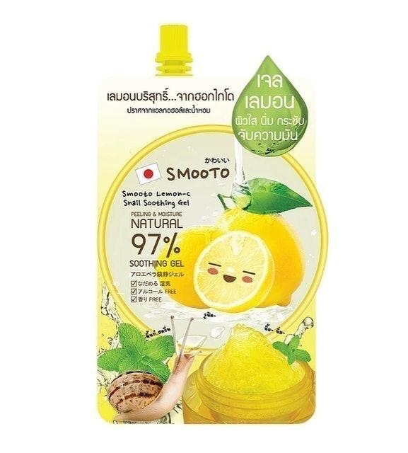 SMOOTO เจลเลมอน Lemon-C Snail Soothing Gel 1