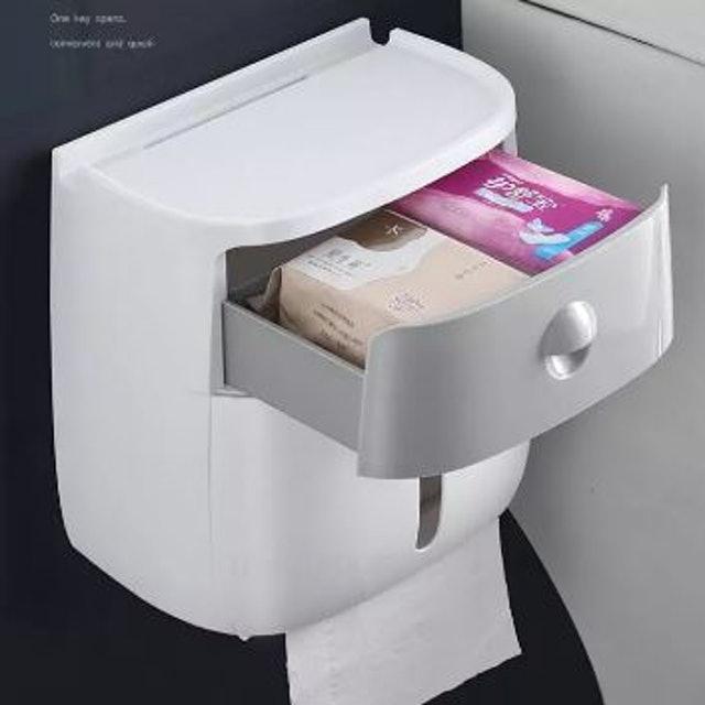ECOCO กล่องใส่กระดาษทิชชู่ 1