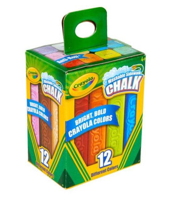 Crayola สีชอล์กล้างออกได้ แท่งใหญ่ 1
