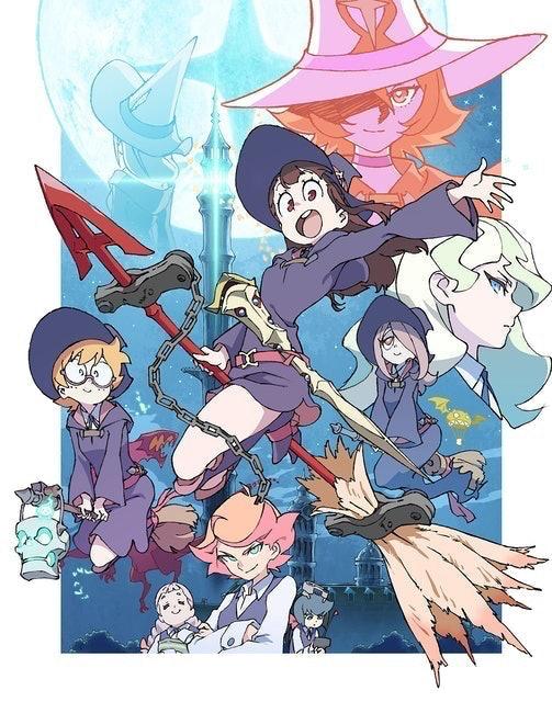 Trigger อนิเมะยูริ Little Witch Academia 1