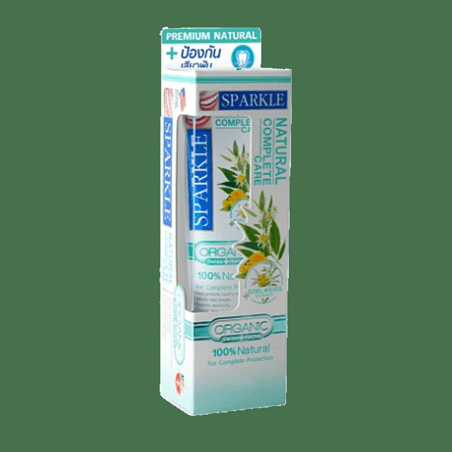 SPARKLE ยาสีฟันสมุนไพรออร์แกนิค สูตร Natural Complete 1