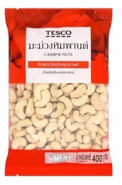 TESCO Cashew Nuts 1