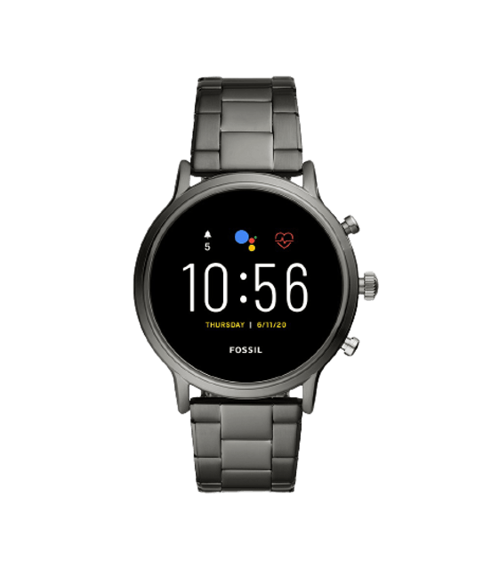 FOSSIL Gen 5 The Carlyle HR 44mm Smoke Smartwatch FTW4024 1
