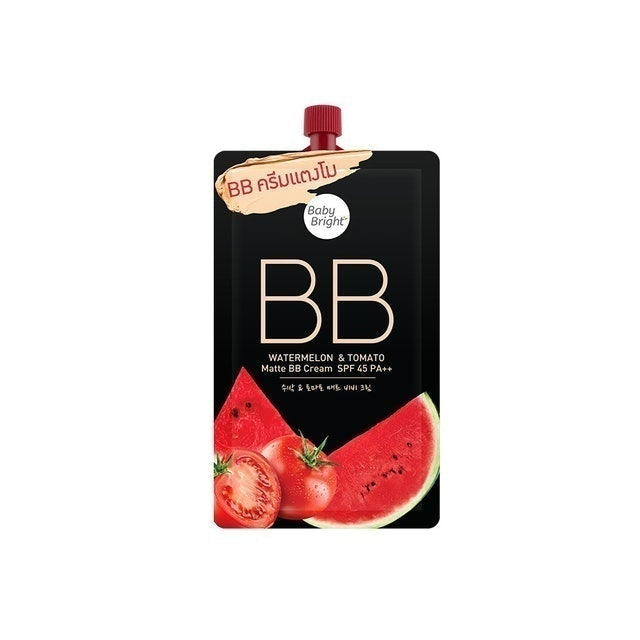 Baby Bright Watermelon & Tomato Matte BB Cream  1