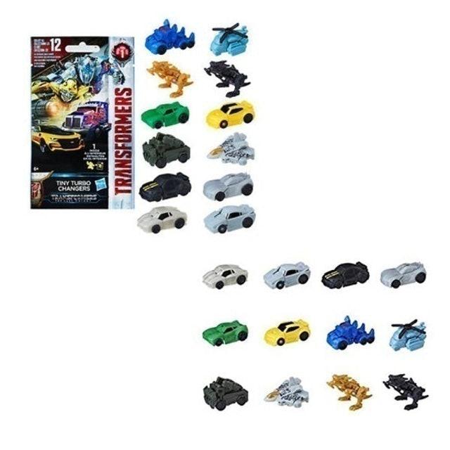 TRANSFORMERS รถของเล่นเด็ก รุ่น The Last Knight Tiny Turbo Changers 1