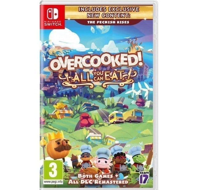 Team17, Ghost Town Games Overcooked! All You Can Eat 1