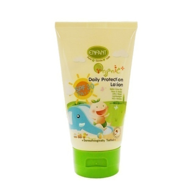 ENFANT  Organic Plus Daily Protection Lotion  1