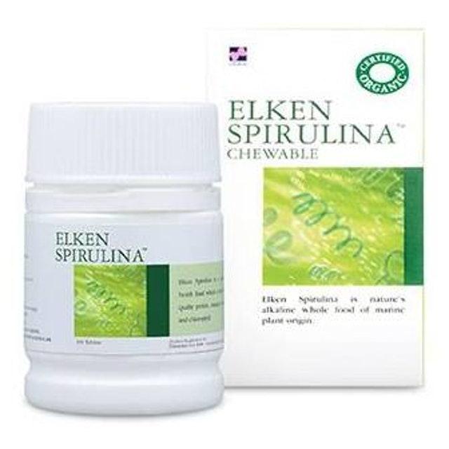 Elken สาหร่ายสไปรูลิน่า Spirulina 200 mg 1