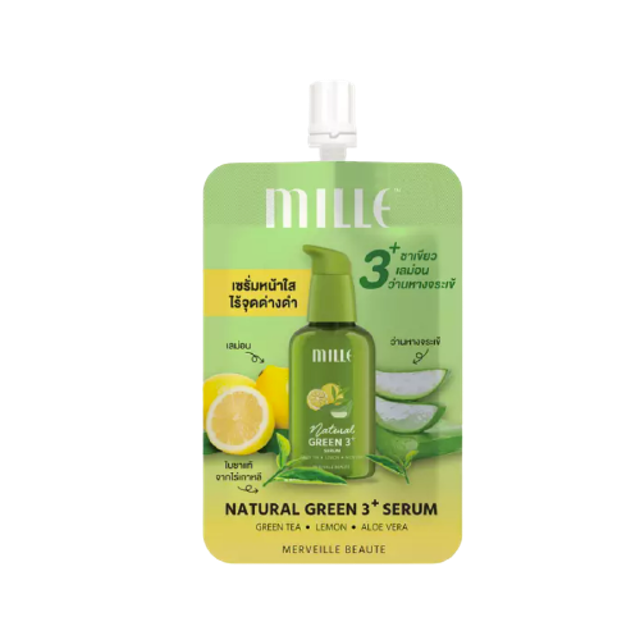 Mille Natural Green 3+ Serum 1