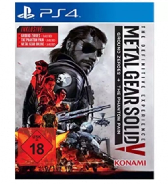 PS4 Metal Gear Solid V Ground Zeroes + The Phantom Pain 1