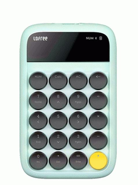 Lofree คีย์บอร์ดตัวเลข/แป้นพิมพ์ตัวเลข รุ่น Bluetooth Numpad Calculator 1