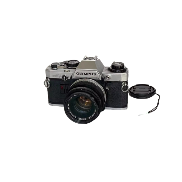 OLYMPUS กล้องฟิล์ม SLR รุ่น OM-10 1