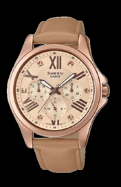 Casio นาฬิกา รุ่น SHE-3806GL-9AUDR 1