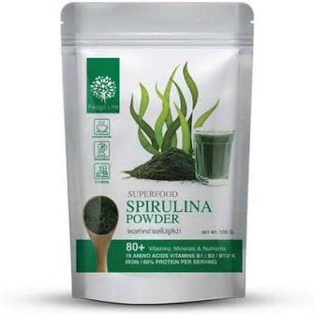 Feaga Life สาหร่ายสไปรูลิน่าแบบผง Organic Spirulina Powder 100 g 1