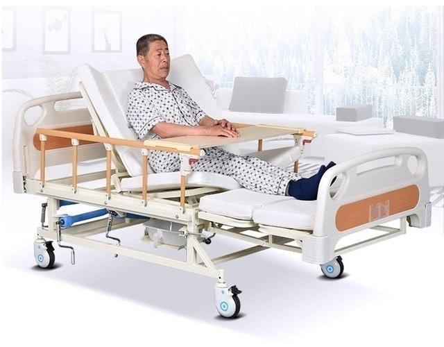 No Brand เตียงผู้ป่วย ที่นอนผู้ป่วย เตียงคนไข้ 1