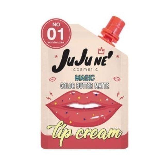 JuJune' Magic Color Butter Matte Lip Cream 1