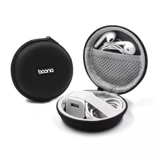 Boona เคสเก็บหูฟัง, สายชาร์จ, หัวต่อ USB 1
