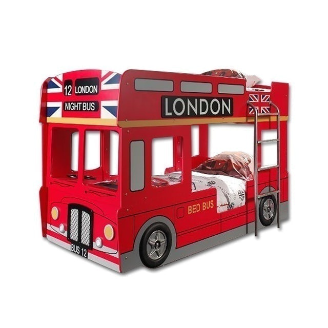 Ctrend เตียงสองชั้น รุ่น London Bus Red 1