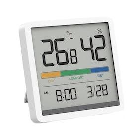 10 อันดับ เครื่องวัดอุณหภูมิและความชื้น ยี่ห้อไหนดี ฉบับล่าสุดปี 2021 วัดได้แม่นยำ แสดงผลแบบดิจิทัล มีทั้ง Xiaomi และ HTC-1 3