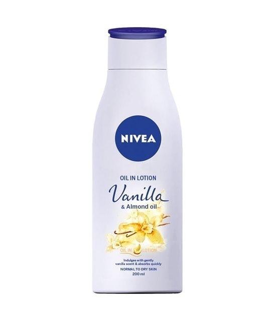 NIVEA Oil In Lotion Vanilla Almond Oil 1
