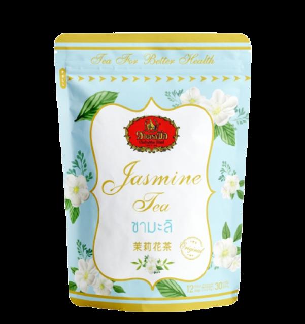 ชาตรามือ ชาเขียวมะลิ 1