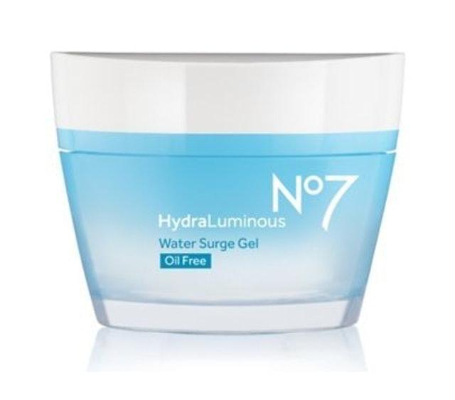 No7 Hydraluminous Water Surge Gel 1